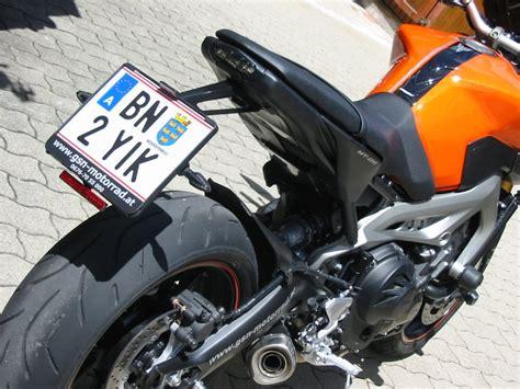 Mt 9 Motorrad by Umgebautes Motorrad Yamaha Mt 09 Gsn Motorraeder