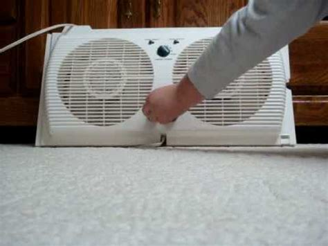 holmes twin window fan with washable filter holmes twin window fan youtube