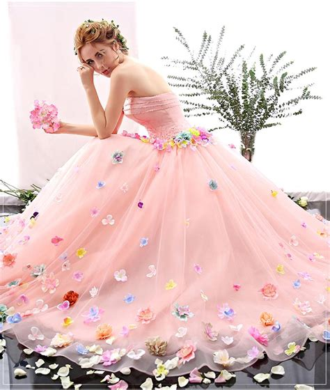 Royal Wedding Images Cinderella by 2016 New Charming Royal Pink Princess Cinderella Gown