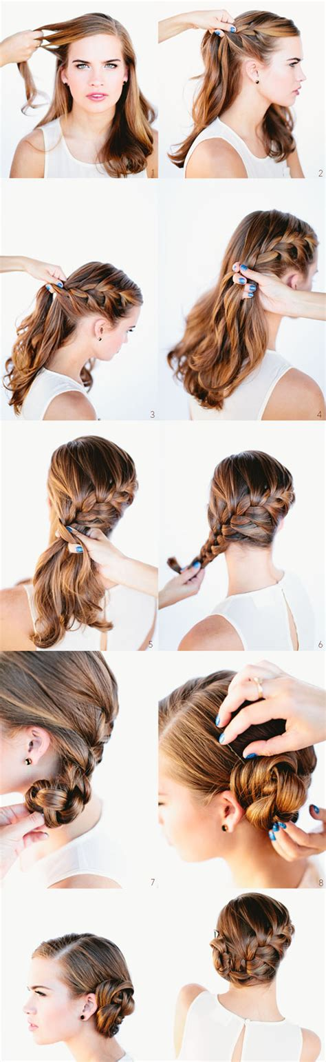 easy hairstyles for eid step by step easy hairstyles for eid 2016 2017 step by step tutorials