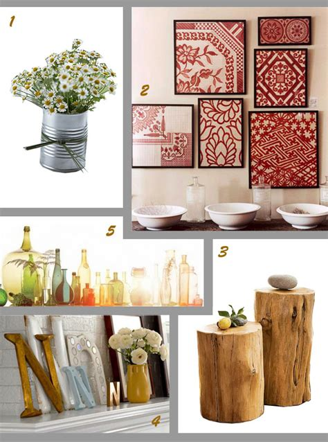 home decorations and accessories 25 easy diy home decor ideas