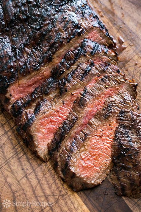 Beef Grill Marinade by Grilled Marinated Flank Steak Recipe Simplyrecipes