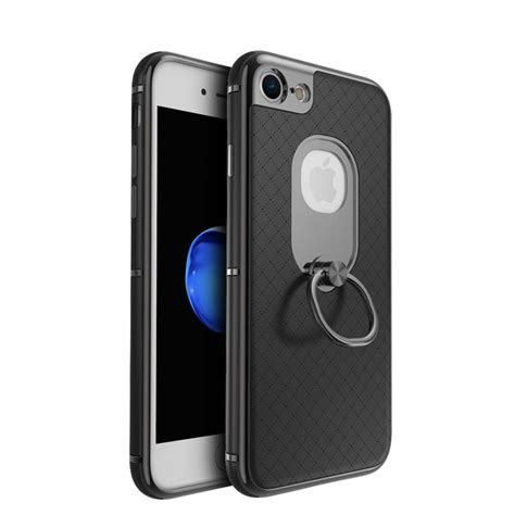 Ipaky New Generatin Ring Holder Iphone 5 ipaky 174 new invention iphone 7 ring phone electroplate pc frame tpu for iphone