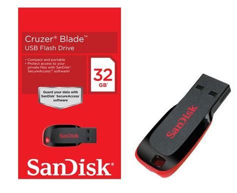 Sandisk Cruzer Blade 32gb usb sandisk cruzer blade 32 gb discoazul