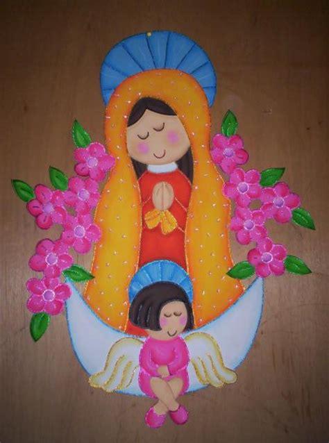 imagen virgen maria en foamy virgencita en fomi imagui