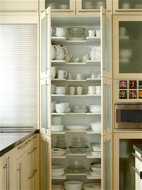 Floor To Ceiling Storage Cabinets by 15 Creative Ideas To Organize Dish And Plate Storage On Your Kitchen Shelterness