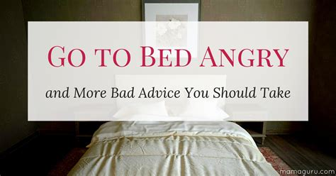 is it bad to go to bed with wet hair go to bed angry and more bad advice you should take mamaguru