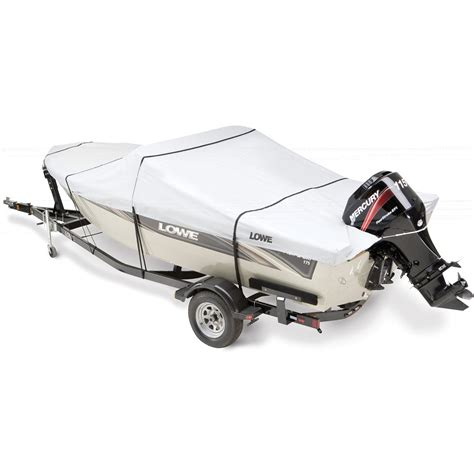 attwood boat covers attwood lowe branded custom fit boat cover 118955 boat