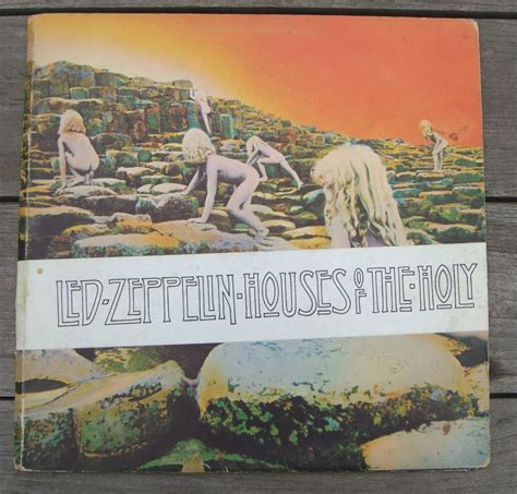 houses of the holy led zeppelin led zeppelin houses of the holy vg mr vinyl
