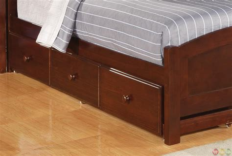 cherry finish bedroom furniture parker brown cherry finish twin panel bedroom furniture group