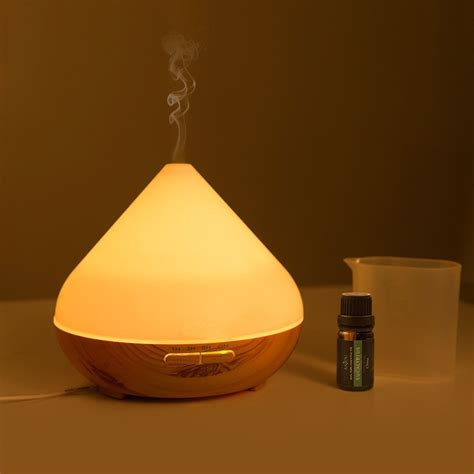 spa room aroma mist diffuser spa room aroma mist ultrasonic diffuser with yellow led light aroma diffuser supplier