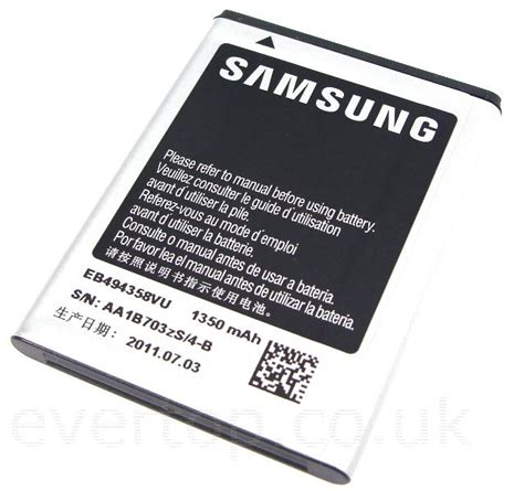 Exlusive Samsung Original Battery Eb494358vu For Samsung Galaxy Ace S5 original samsung galaxy ace s5830 galaxy gio s5660