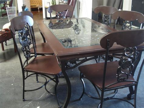 wrought iron dining set in costa mesa california krrb