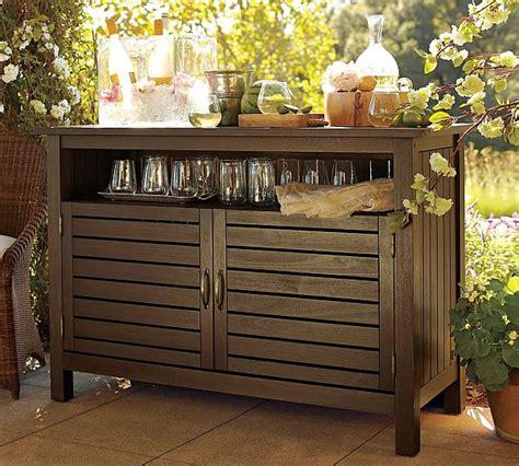 Eucalyptus buffet for relaxing outdoors