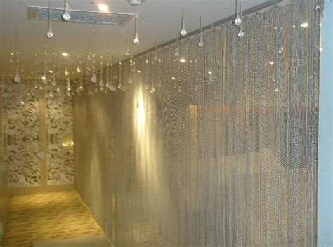 metal bead curtains bead chain curtain for interior decoration ball chain
