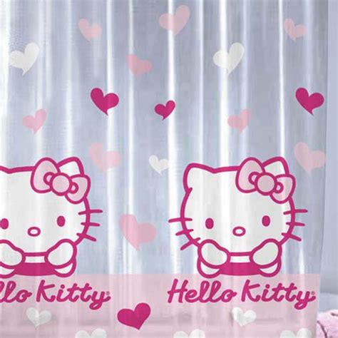 hello kitty curtain hello kitty shower curtain