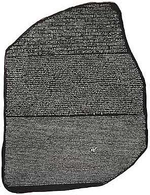 rosetta stone tablet making sense of all the tablets likely to be unveiled at