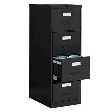 global office 4 drawer vertical metal file cabinet 25 450