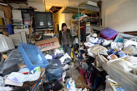 Garage With Apartment manhattan hoarder told to clear out apartment or get out