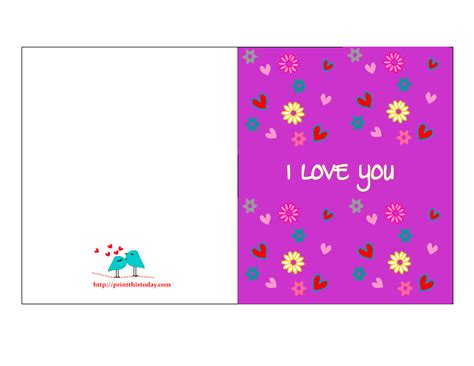 Gift Card For You - i love you cards for him