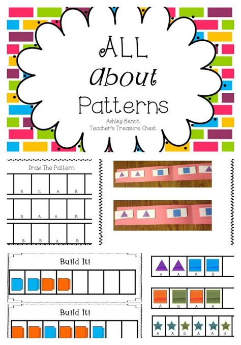 kindergarten pattern unit 132 best patterns unit images on pinterest