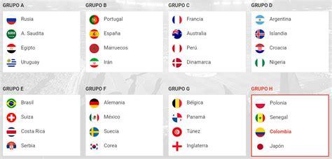 resultados mundial calendario y resultados mundial de rusia 2018 mundonets