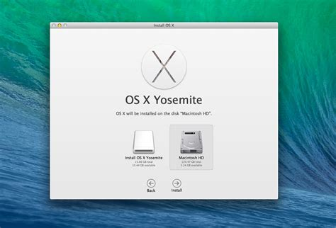 how to make an os x yosemite boot installer usb drive