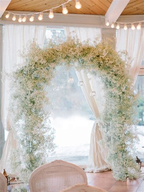 Wedding Arch by 30 Winter Wedding Arches And Altars To Get Inspired