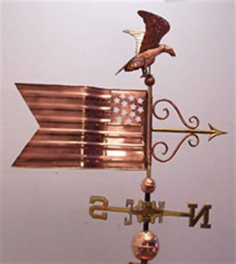 american banner weathervane american flag banner with screaming eagle flag e 1