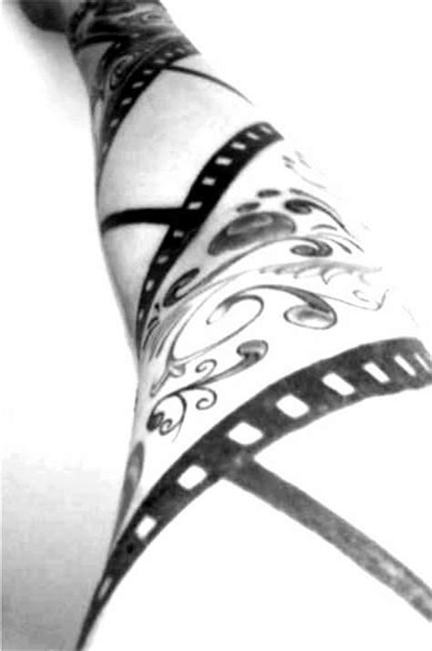 film strip tattoo by sarabil1 sleeve www pixshark images
