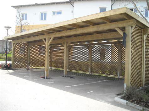 garage carport holz carports garagen