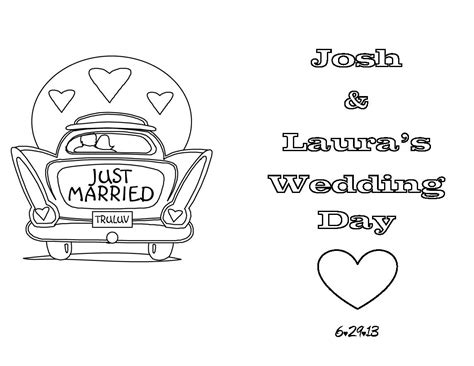 Wedding Coloring Book Cover by Then I Searched The Web To Find Coloring Pages Or