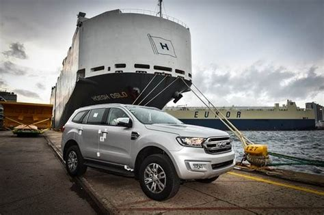 ford south africa ford everest exports commence in south africa