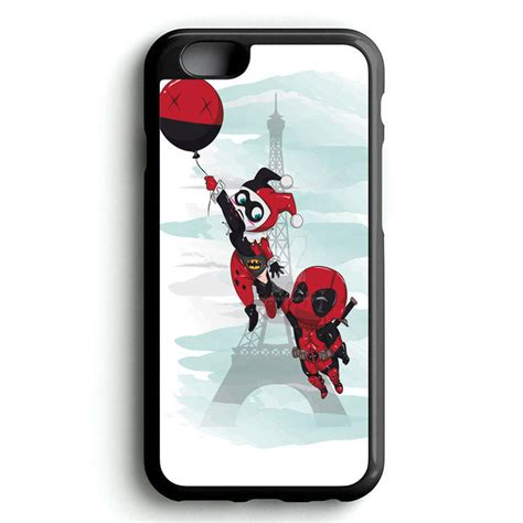 Tmnt Chibi Iphone 5 5s 5c 6 6s 7 Plus harley quinn and deadpool chibi iphone 4s from