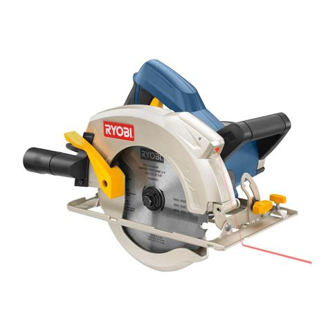 ryobi reconditioned 14 7 circular saw with laser