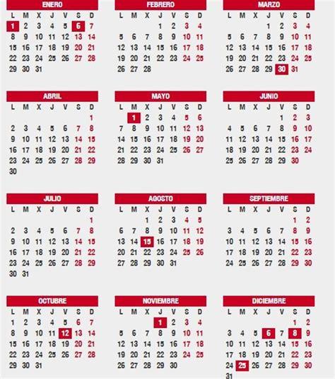 cuando cobramos laminima los jubilados del ano 2016 191 cu 225 ndo cae nochevieja y reyes en el calendario laboral