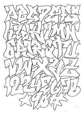 collections graffiti style abecedario graffiti graffiti