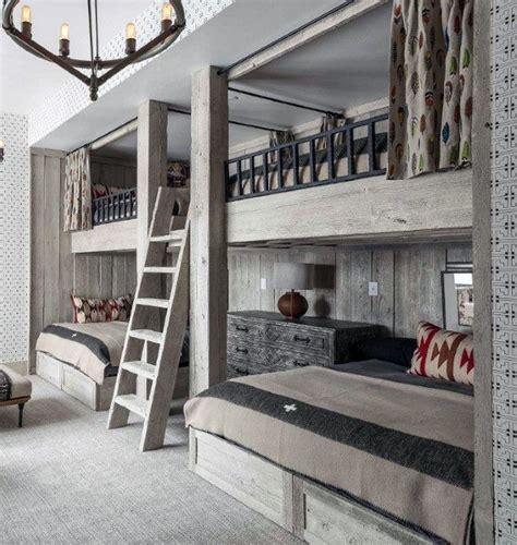 Top 100 Bunk Beds - top 70 best bunk bed ideas space saving bedroom designs