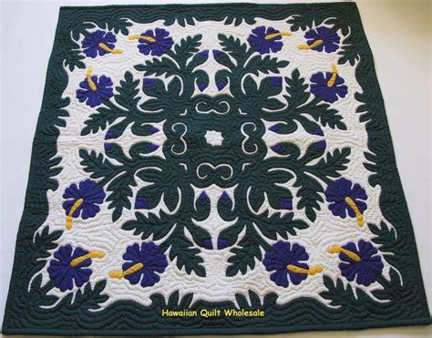 hawaiian wall hanging quilt blanket handmade 100