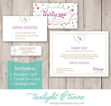 vista business card template 54 best images about thirty one scentsy business cards