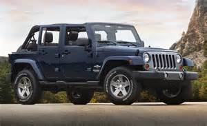 Jeep Freedom 2012 Jeep Wrangler Unlimited Freedom Edition Side View