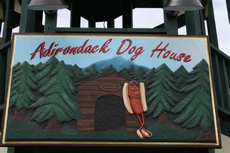 adirondack dog house top eats in old forge