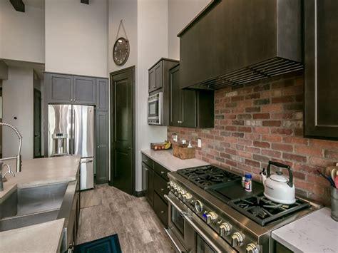 brick kitchen design ideas tile backsplash accent walls designing idea