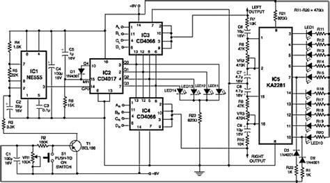 Saklar Selector Input rangkaian audio selector 4 chanel stereo