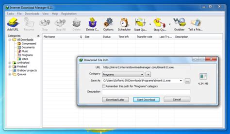 internet download manager full version download for windows xp internet download manager download