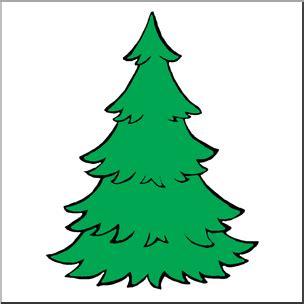 Evergreen Tree Clip by Clip Evergreen Tree Color I Abcteach Abcteach