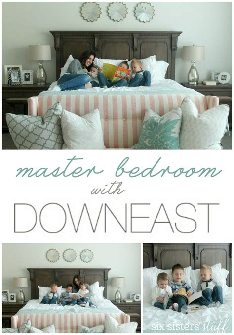 master bedroom reveal with downeast home six stuff