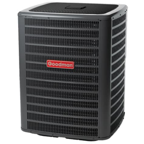 ton goodman  seer ra air conditioner condenser