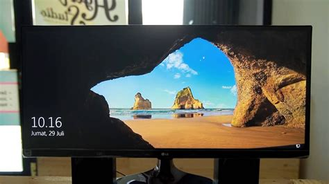lg um p indonesia review gaming  editing youtube