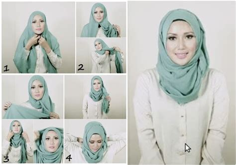 Hijab Tutorial Everyday Simple Hijab 2014 | simple everyday hijab tutorial step by step hijab